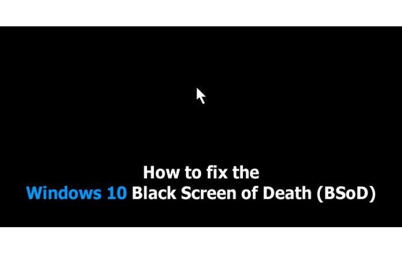 رفع ایراد Black Screen در ویندوز