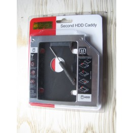 SSD Caddy for Laptop and Notebook CD / DVD|کدی ، مبدل جهت هارد دوم نوت بوک