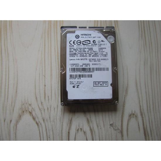 هارد نوت بوک هیتاچی 60 گیگ  /Hitachi H.D.D 60 GB