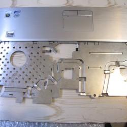 DELL XPS M1530 notebook frame C with touchpad and fingerprint/ قاب C همراه اسکن انگشت و پد لمسی نوت بوک دل XPS M1530