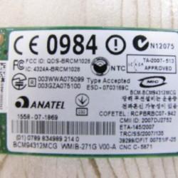 کارت وایرلس-وای فای نوت بوک   ANATEL Wireless-Wifi