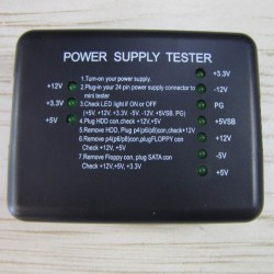 تست پاور آنالوگ | Power Supply Tester