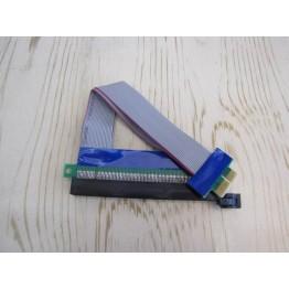 مبدل پی سی آی اکسپرس به پی سی آی | PCI E1X to 16X E Flexible Extension Cable