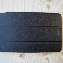 کیف کلاسوری مشکی چرمی تبلت هواوی HUAWEI Tab3  710l Folio Book Cover | S8-701U