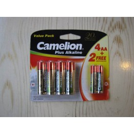 باطری قلمی 1.5  + باطری نیم قلمی 1.5 ولت / camelion plus alkaline  battery 1.5v