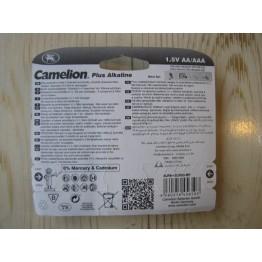 باطری قلمی 1.5  + باطری نیم قلمی 1.5 ولت / camelion plus alkaline  battery 1.5v