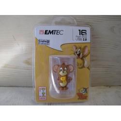 فلش مموری USB 2.0 ام تک مدل جری ظرفیت 16 گیگابایت | EMTEC JERRYUSB 2.0 Flash Memory - 16GB