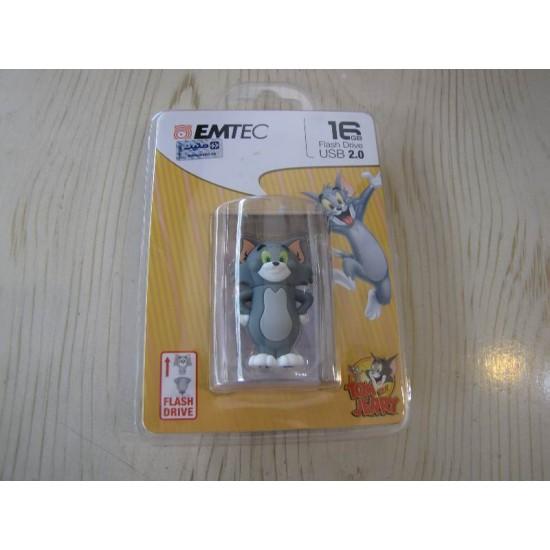 فلش مموری USB 2.0 ام تک مدل تام ظرفیت 16 گیگابایت | EMTEC Tom USB 2.0 Flash Memory - 16GB