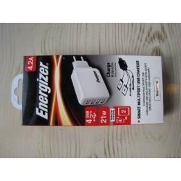 شارژر ديواري اسمارت انرجايزر 4پورت Esmart Multiport Energizer USB Charger 4.2A | 4.2A
